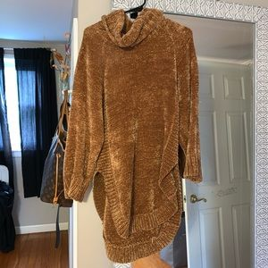 Anthropologie Chenille Sweater Tunic